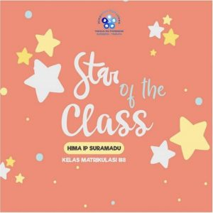 [HIMA IIP Suramadu] Star of the Class Aliran Rasa Menuju Matrikulasi Batch #8